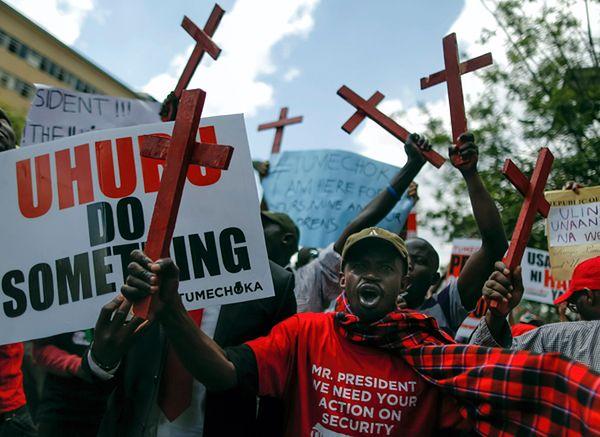 Co najmniej 36 zabitych w ataku bojowników na kamieniołom w Kenii