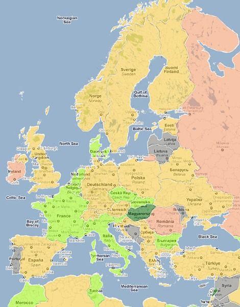 Najhojniej obdarzeni w Europie