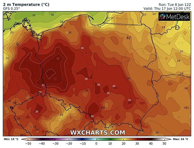 Pogoda zaskoczy. Na Polskę wyleje się afrykański żar
