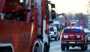 Warszawa stoi. Śmiertelny wypadek w Dolinie Służewieckiej