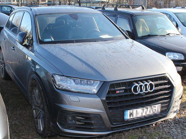 Samochód odzyskała warszawska policja