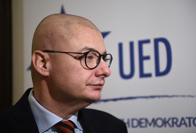 Michał Kamiński był bliskim współpracownikiem Jarosława Kaczyńskiego