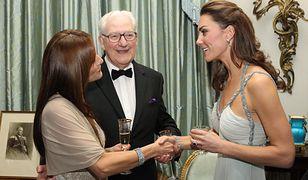 Kate Middleton ma bliznę na skroni