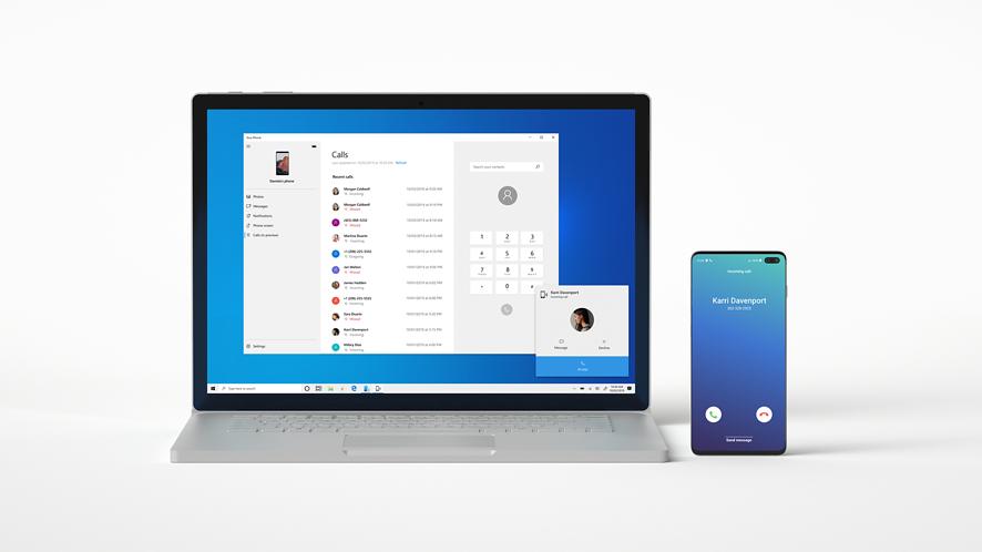 Windows 10 Insider z nowościami w Twój telefon. Porozmawiasz z komórki przez komputer (fot. blogs.windows)
