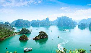 Halong Bay w Wietnamie