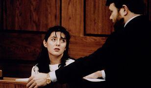 Lorena Bobbitt podczas procesu, po którym została uznana za niepoczytalną