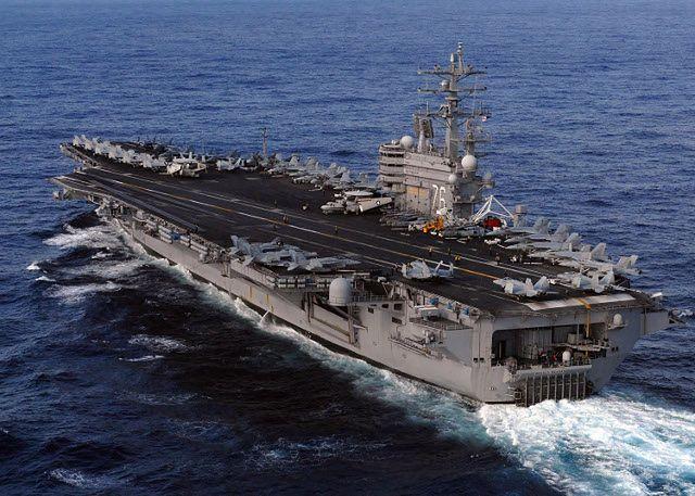 Potężne okręty, 180 samolotów i tysiące żołnierzy