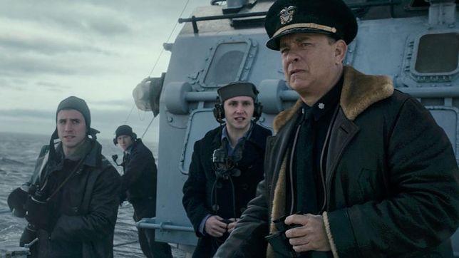 """Tom Hanks w filmie """"Greyhound"""""""