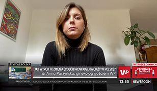 Dr Anna Parzyńska chce nadal pomagać kobietom. Ginekolog mówi, jaki ma pomysł na obejście wyroku TK