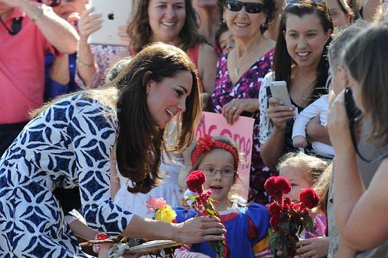 Kate Middleton ma świetny kontakt z dziećmi