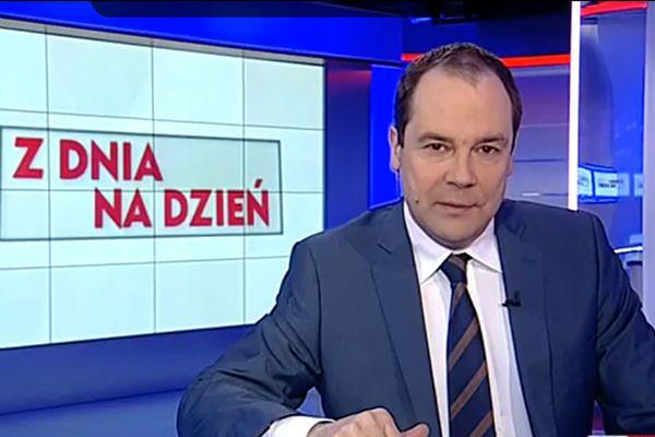 """Prowadzący program """"Z dnia na dzień"""" Jarosław Kulczycki"""