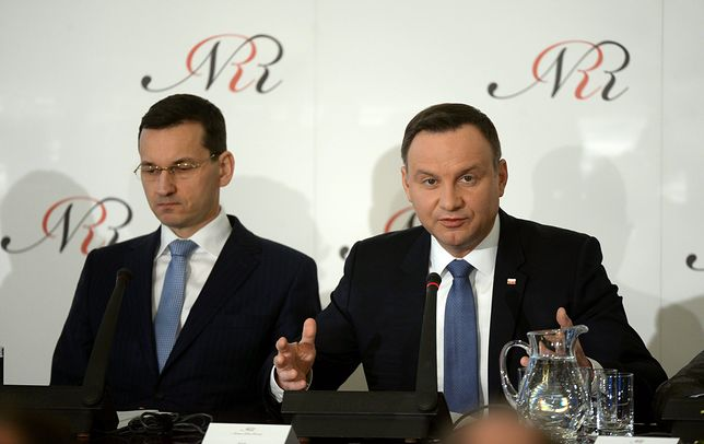 Prezydent Andrzej Duda był zaskoczony, tym co zrobił premier Mateusz Morawiecki