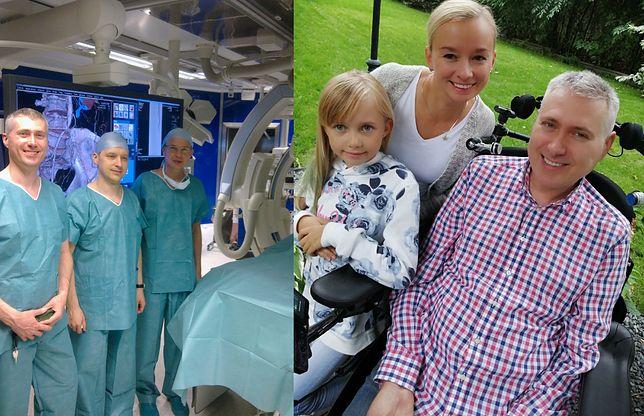 Przez 17 lat ratował życie ludzi. Chirurg z Torunia ciężko zachorował. Potrzebuje pomocy