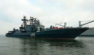 Rosyjski niszczyciel RFS Admiral Chabanenko (DD 650)