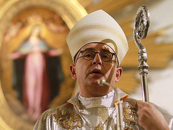 Biskup Piotr Jarecki - zdjęcie archiwalne