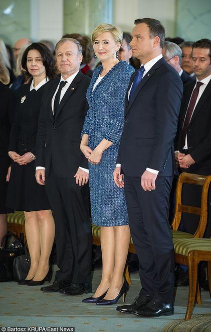 Elegancka Agata Duda