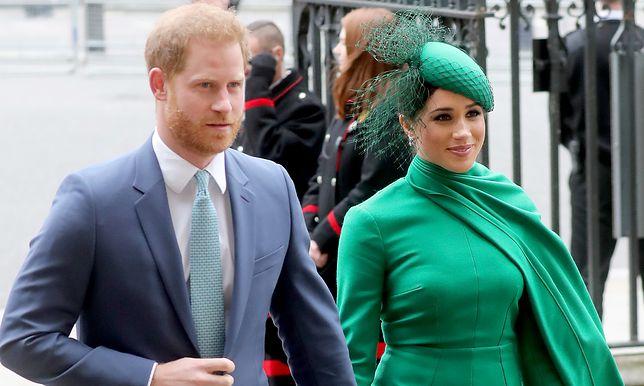 Meghan Markle i książę Harry odchodzą z rodziny królewskiej