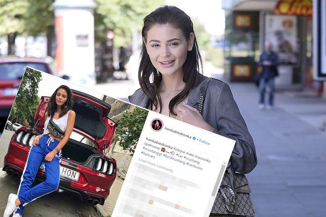 """""""Honey"""" pochwaliła się nowym autem na Instagramie"""