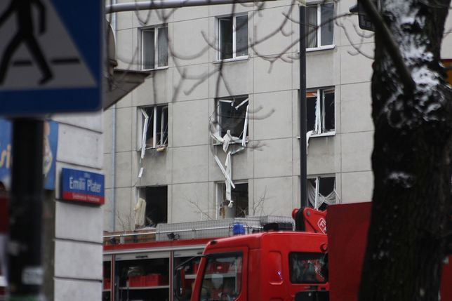 Wybuch w centrum Warszawy. Są ranni