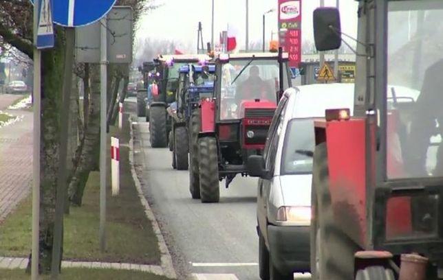 Rolnicy w Warszawie [Utrudnienia]