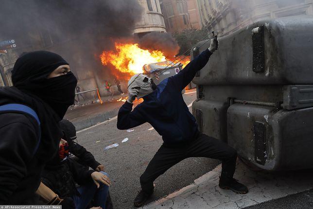 Wstrząsające sceny w Katalonii