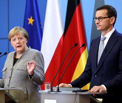 Premier Mateusz Morawiecki porozmawia z kanclerz Niemiec Angelą Merkel