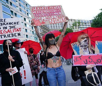 Koronawirus. Prostytutki w Niemczech mogą wrócić do pracy, czego domagały się także podczas lipcowych demonstracji