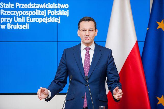 Mateusz Morawiecki obwieścił sukces szczytu w Brukseli.