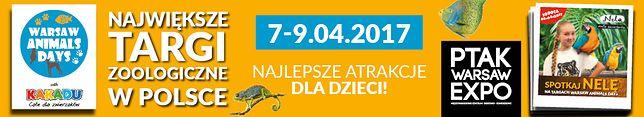 Warsaw Animals Days – impreza zoologiczna dla małych i dużych miłośników zwierząt