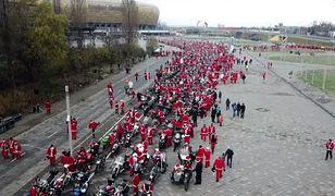 Mikołaje na motocyklach przejechali przez Trójmiasto po raz 15