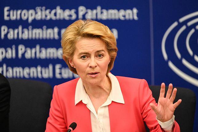 Przewodnicząca Komisji Europejskiej Ursula von der Leyen. Przekona TSUE?