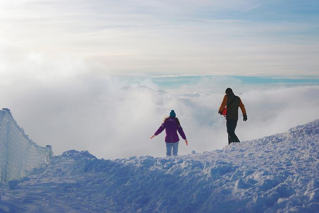 Kasprowy Wierch to najpopularniejszy i najczęściej odwiedzany szczyt w Polsce
