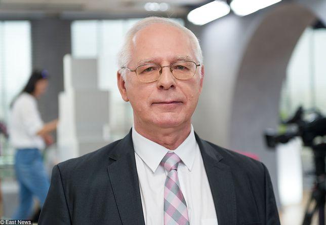 Jerzy Zięba, guru antyszczepionkowców wykpił zagrożenie odrą
