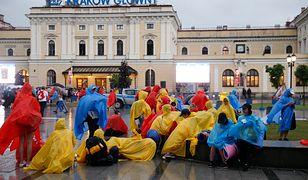 Kraków Główny. Zdjęcie ilustracyjne. Opóźnienia sięgają nawet kilku godzin