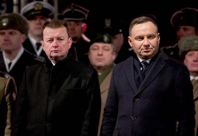 Mariusz Błaszczak i Andrzej Duda spotkają się z wojskowymi ws. katastrofy MiG-a-29