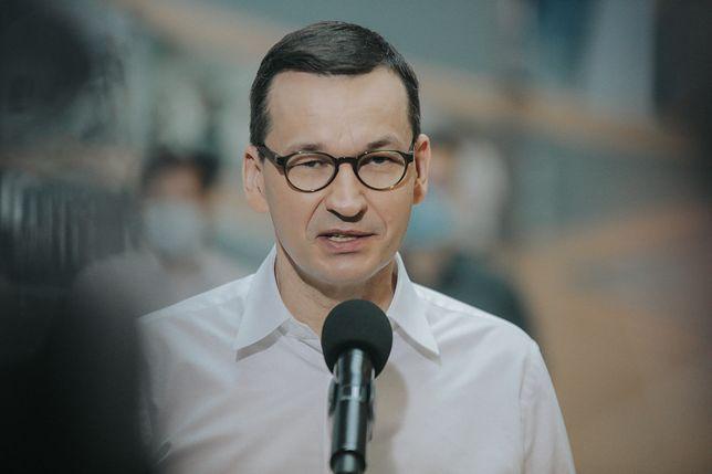 Sondaż IBRIS dla WP. Premier Mateusz Morawiecki oceniony