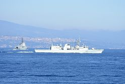 Morze Śródziemne. Rozbił się helikopter NATO. Trwa akcja poszukiwawcza