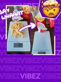 MAŁE frytki w McDonald's są jak DUŻE? Sprawdzam, czy fast food oszukuje klientów