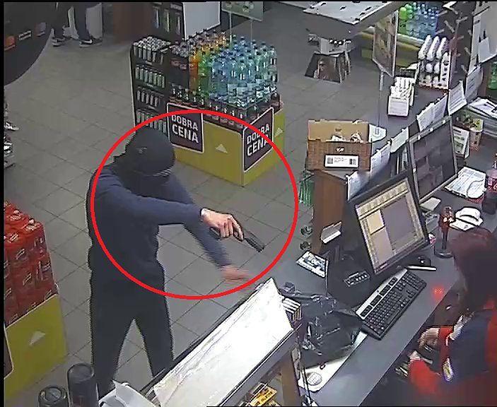 Marki. Napad na stację benzynową, mężczyzny szuka policja