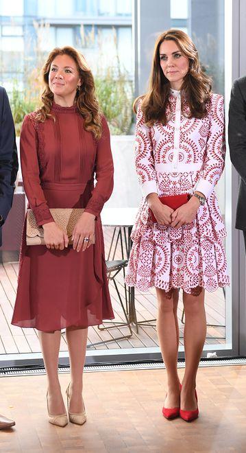 Kate Middleton i Sophie Trudeau jak siostry