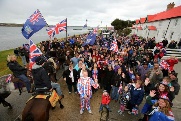 Referendum za pozostaniem Falklandów przy Wielkiej Brytanii w 2013 r.