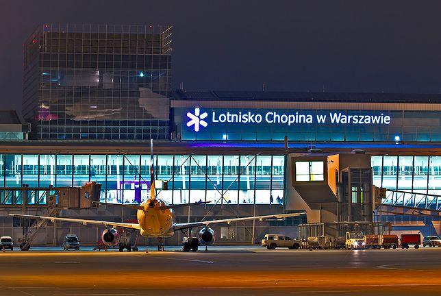 Paraliż lotniska Chopina w Warszawie. Samoloty krążyły w powietrzu