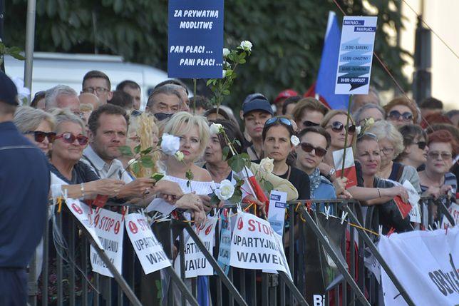 Skazani za protest pod Wawelem. Pełnomocnik: jest sprzeciw, chcemy procesu