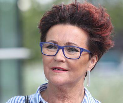 Jolanta Kwaśniewska w 2020 roku, przed drugą turą wyborów prezydenckich