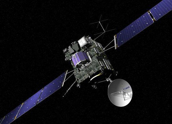 Sonda kosmiczna Rosetta dotarła w okolice Saturna