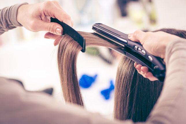 Wysoka temperatura prostownicy nie musi niszczyć włosów