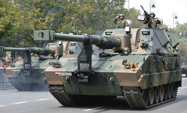 Jedna z najpotężniejszych broni polskiej armii - haubica KRAB