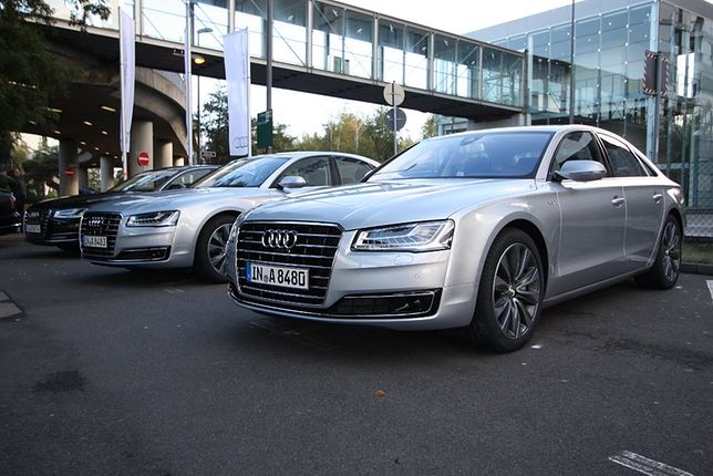 10. Audi A8 - cena od 348,4 tys. zł