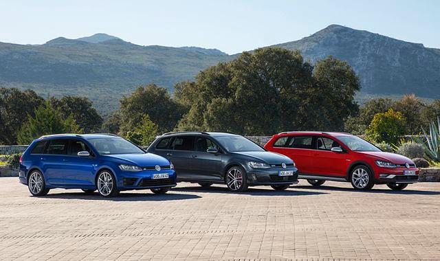 VW Golf Variant w wersjach Alltrack, GTD i R już w sprzedaży