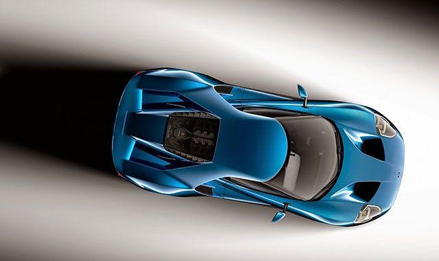 Nowy Ford GT z szybą wykonaną z Gorilla Glass